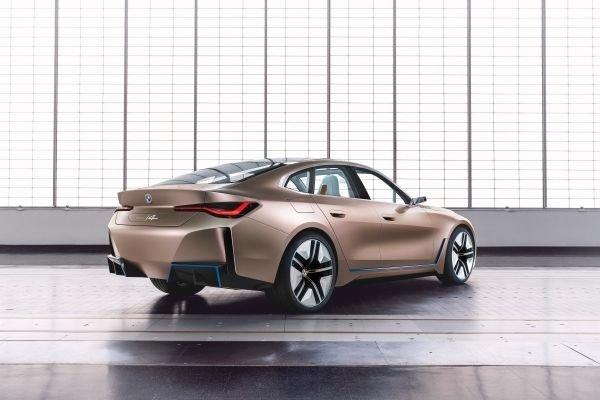 BMW, I4, Electric car, Tesla, Model 3, Geneva motor show, Cars