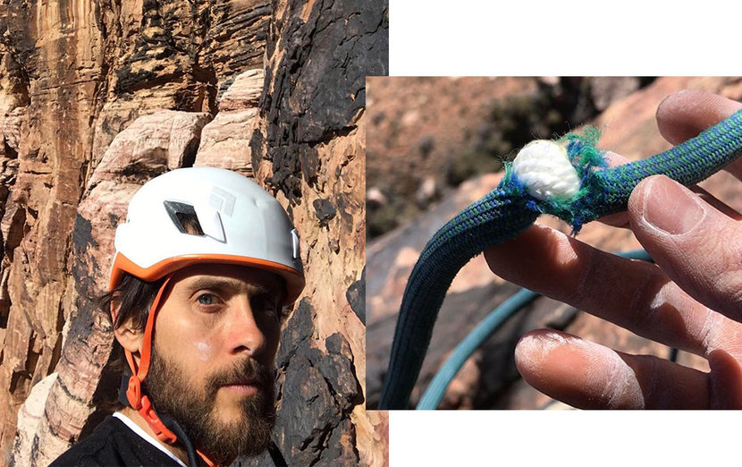 Jared Leto, Twitter, Video, Death, Rock climbing