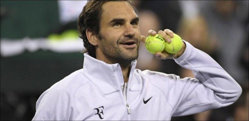 Roger Federer, Tennis, RF