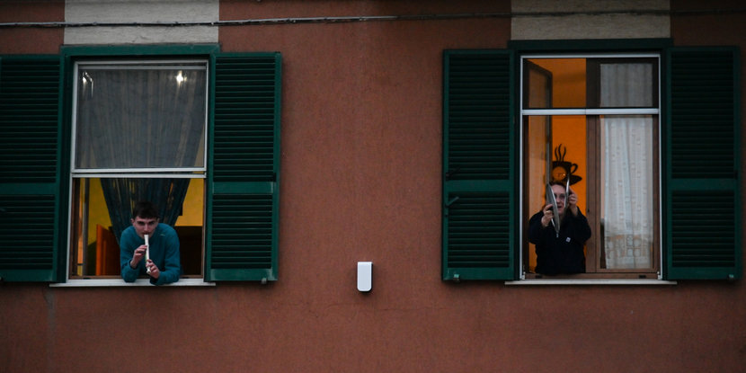 Coronavirus, Covid-19, Italy, Italians, Italians singing, Lockdown, Quarantine