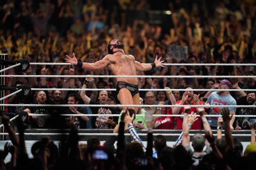 WWE, Drew McIntyre, Royal Rumble, Saudi Arabia, Wrestlemania, Interview