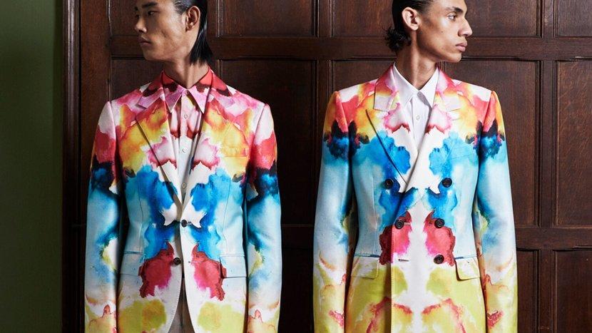 Fashion, Menswear, Style, Alexander McQueen, SS20, Fashion film, Esquire, 2020