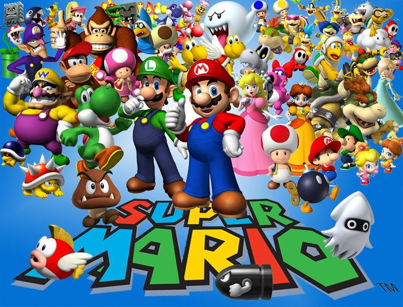Super Mario, Nintendo, Super Mario 64