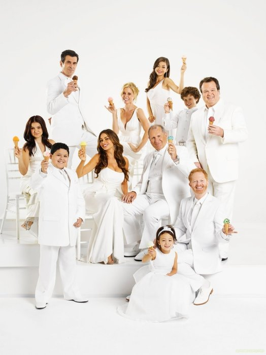 Modern family, TV, ABC, Television