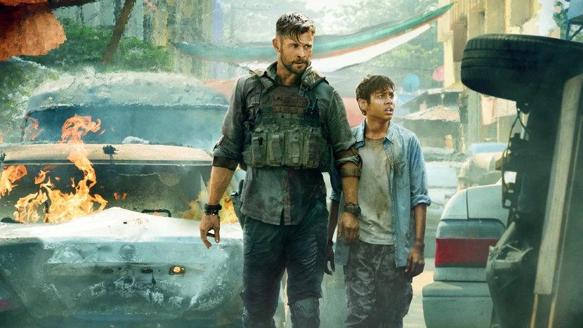 Chris Hemsworth, Extraction, Netflix