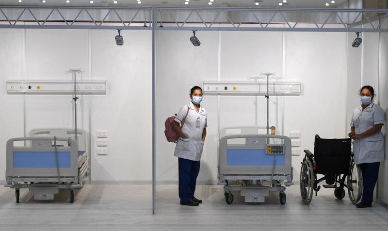 Dubai, Field hospital, Covid-19, Coronavirus