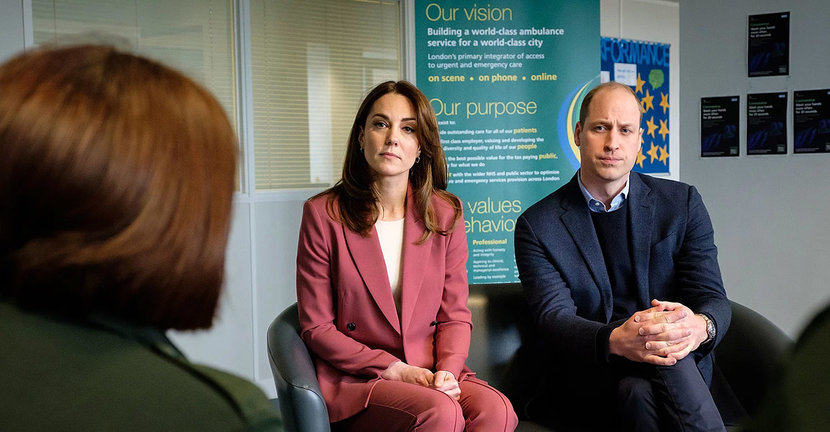 Mental health, Prince William, Kate Middleton