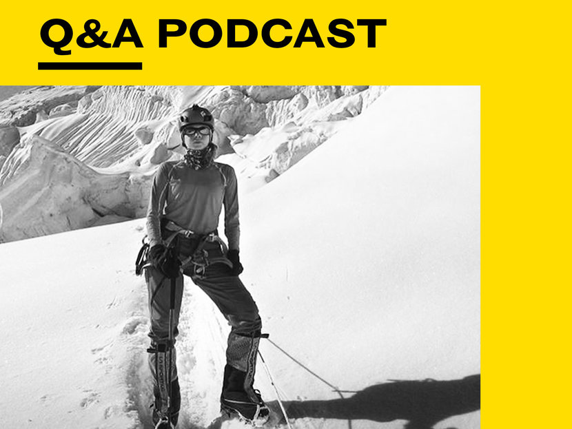 Dolores Al Shellah, Everest, Mount Everest, EsqQ&A Podcast, Podcast