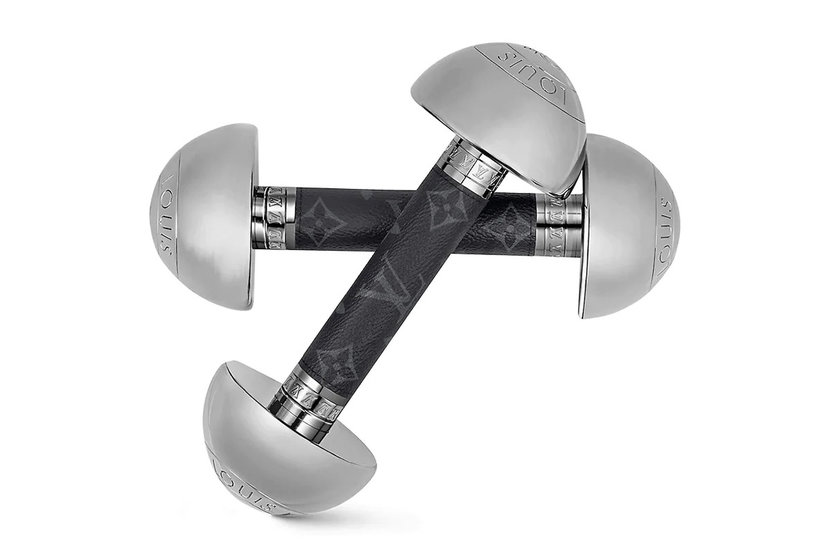 Louis Vuitton, Home work out, Dumbbells