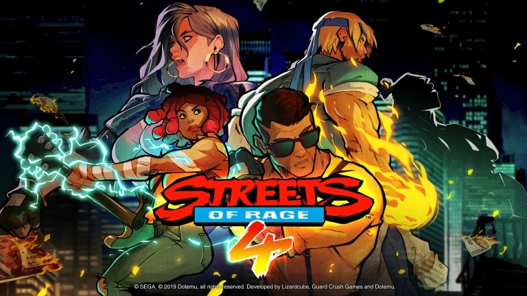 Streets of Rage, Nintendo, Xbox, Playstation, Retro, Vintage Games