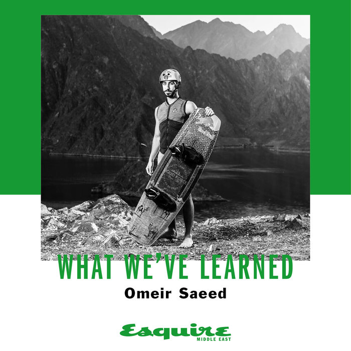 Omeir Saeed, What I've learned, Esquire, Interview, Wakeboarding, Red Bull