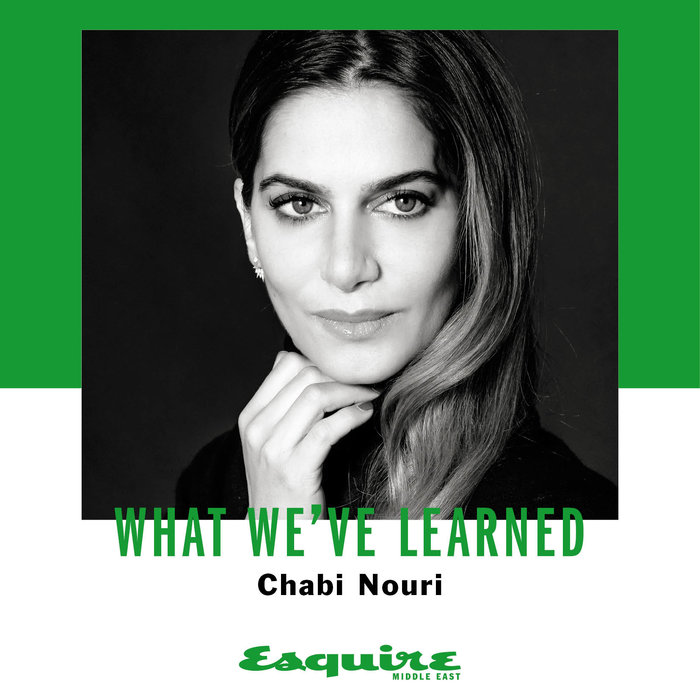 Chabi Nouri, Esquire, Interview, Piaget, CEO, What I've learned