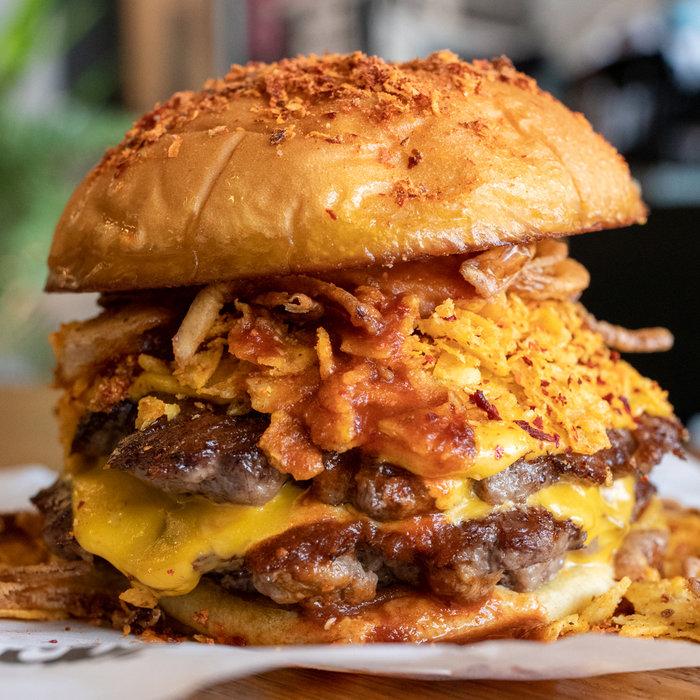 Pickl, Hot beef murray, Burger