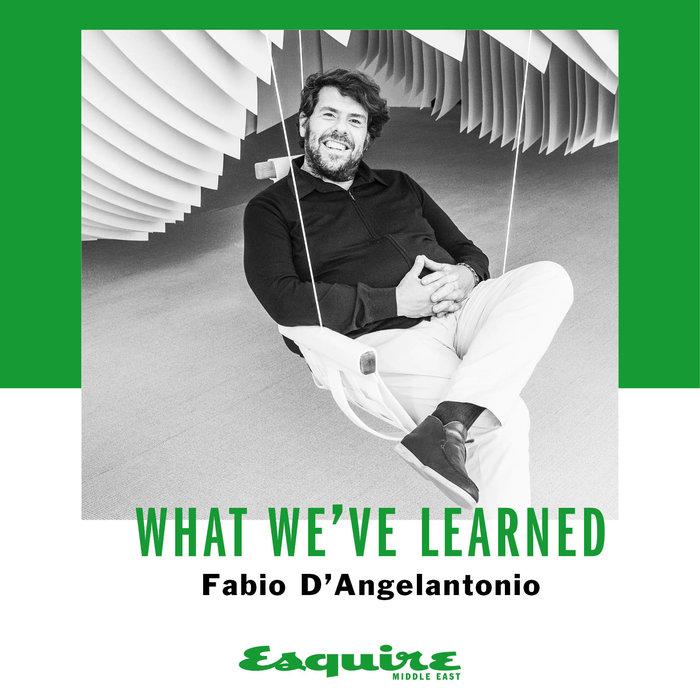 Fabio d'angelantonio, Loro Piana CEO, Interview, Sustainability, Advice, Esquire