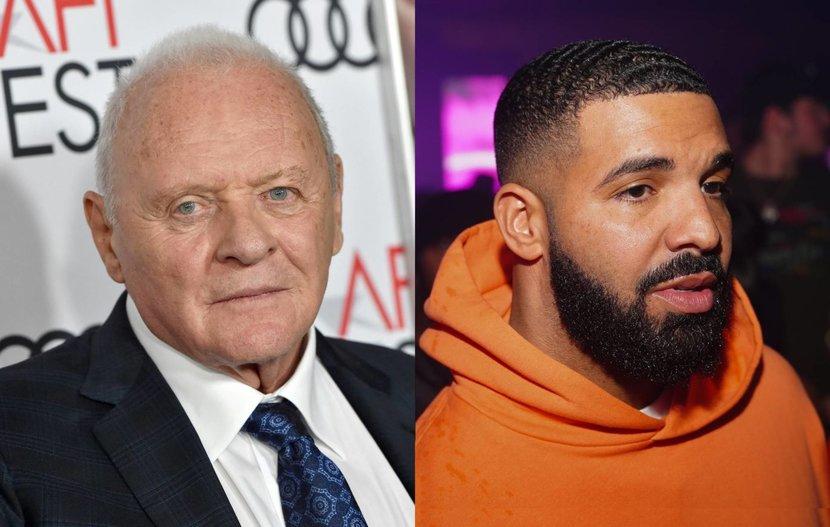 Celebrity, Anthony Hopkins, Drake