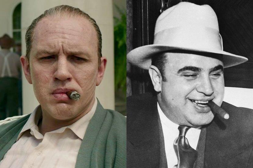 Tom hardy, Capone