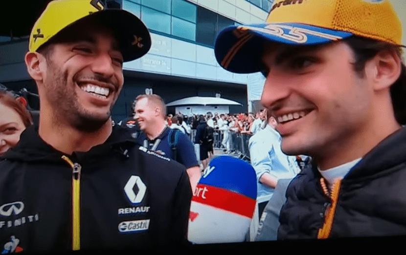 F1, Carlos sainz, Ferrari, McLaren, Daniel Ricciardo
