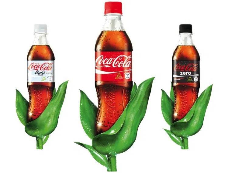 Coca-Cola, Plastic, Green, Environment, Feelgood