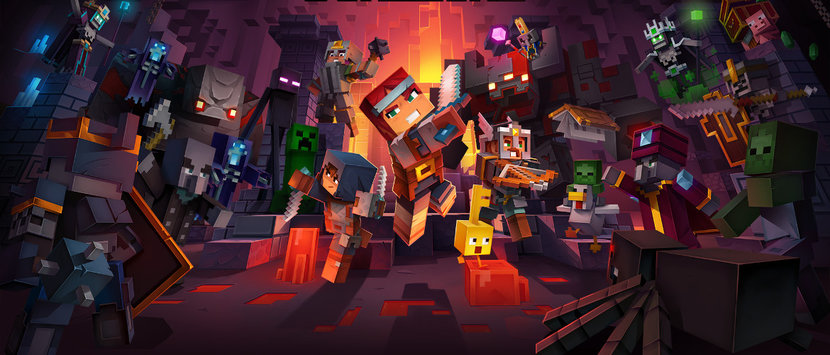 Minecraft, Minecraft dungeons, Gaming
