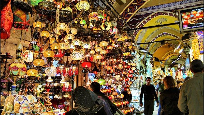 Grand Bazar, Turkey, Travel