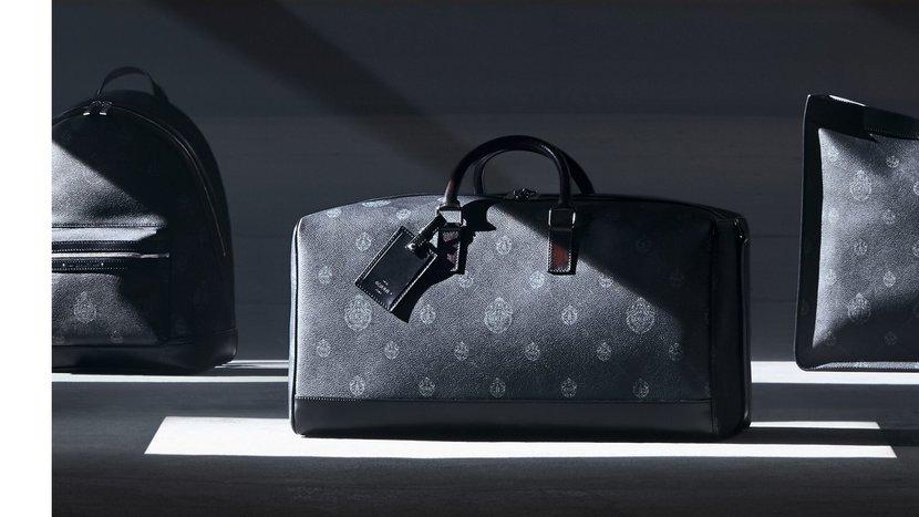 Berluti, Berluti luggage, Berluti Dubai, Holdall, Bag, Monogram, Monochrome