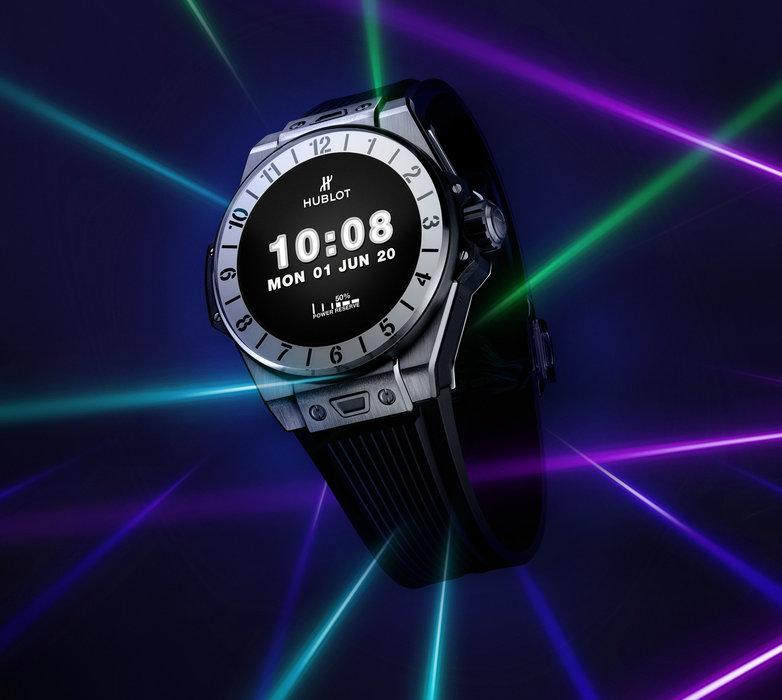 Hublot, Big Bang e, Smartwatch, LVMH, Android Wear
