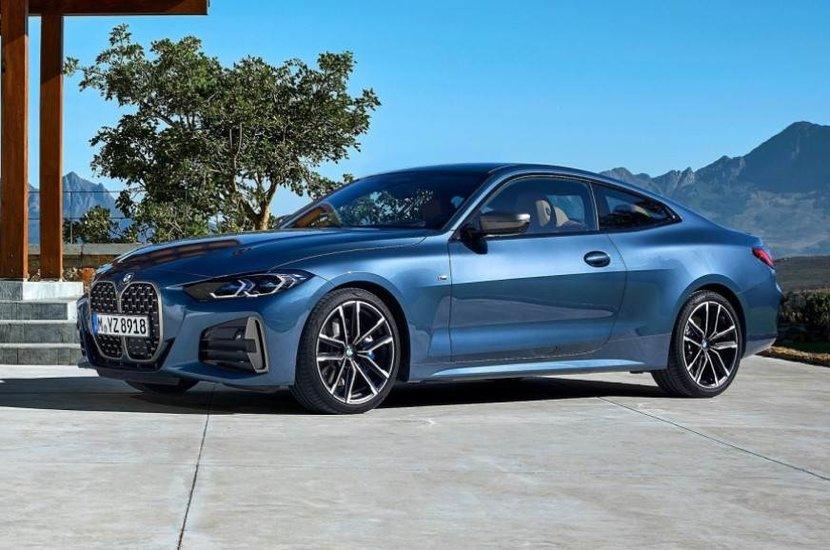 New Bmw 4 Series Coupe Has A Gaping Front Grille Esquire Middle East