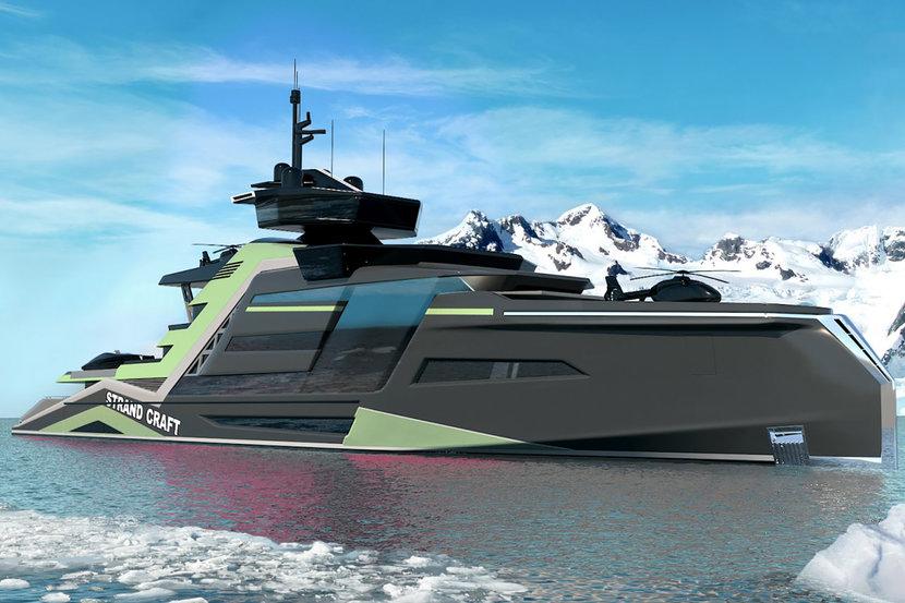 Superyacht, Strand Craft, Boats, Yachts