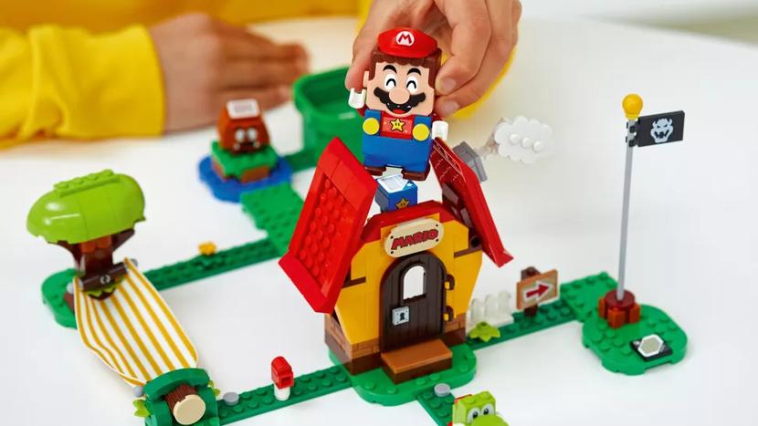 Super Mario, Mario, Lego