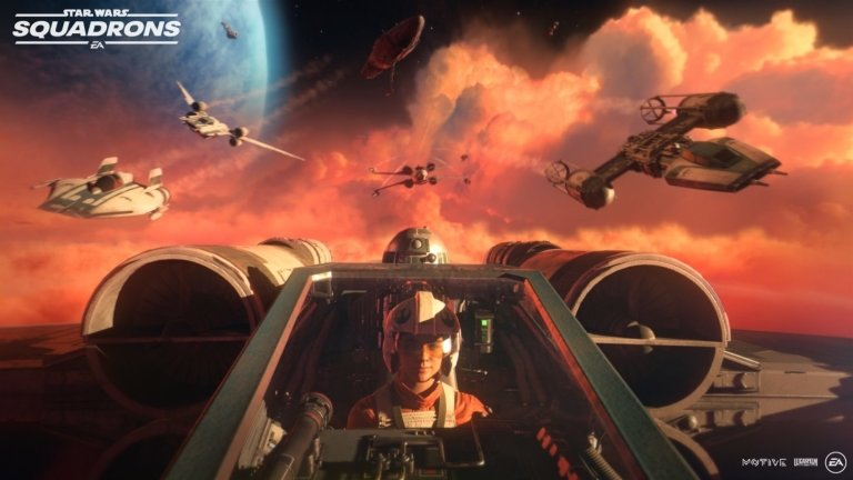 Star wars, Squadrons, EA, EA Games