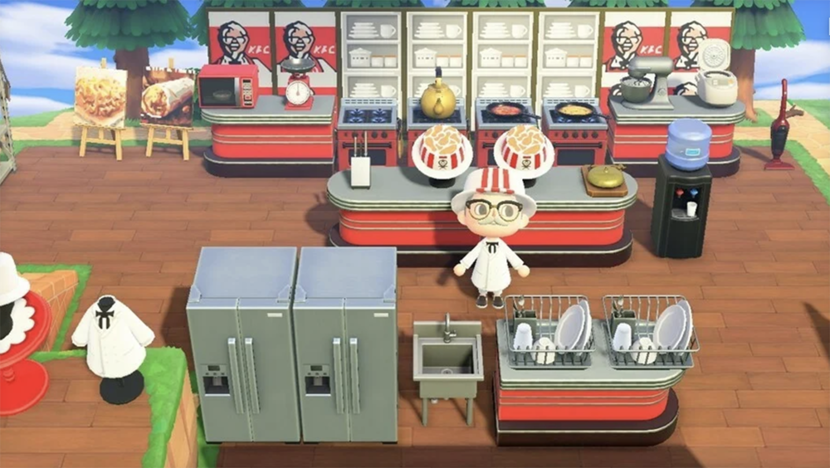 KFC, Animal Crossing, Nintendo, Videogames