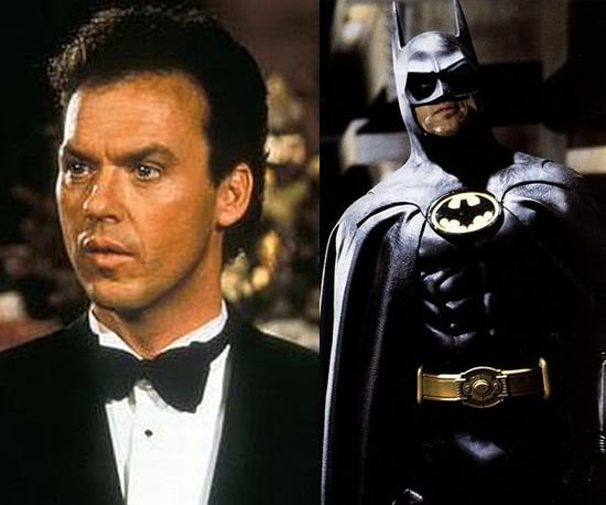 Michael KEaton, Batman, DC