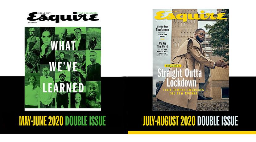 Covid-19, Coronavirus, Free issues, Esquire, Esquire Middle East