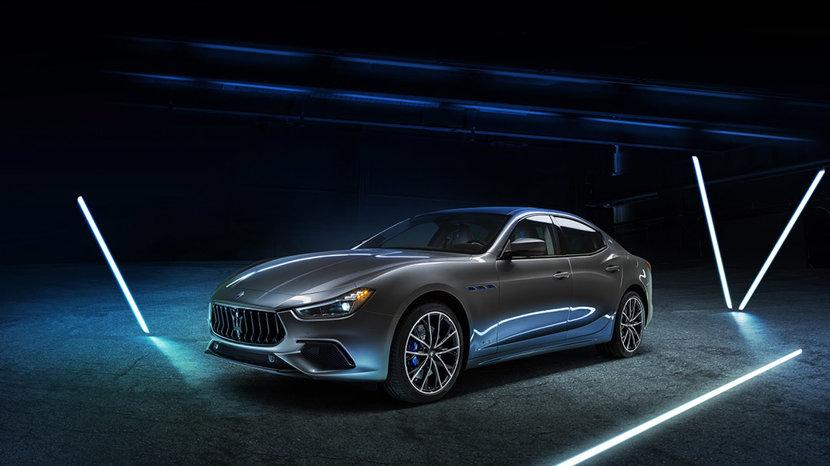 Ghibli, Maserati, Hybrid, Electric