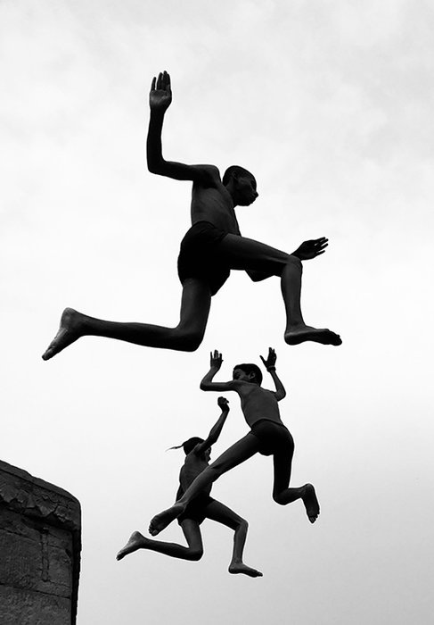 'Flying Boys' by Grand Prize Winner Dimpy Bhalotia