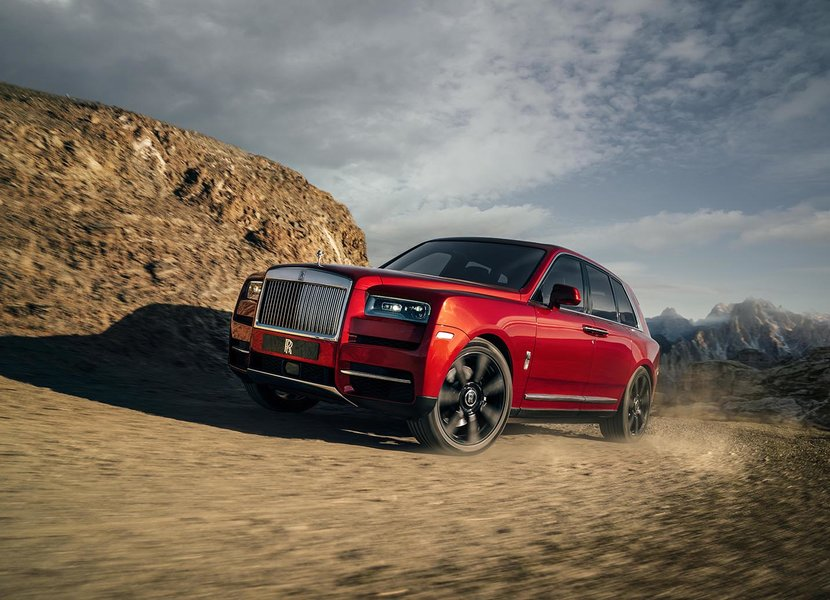Rolls Royce Cullinan, Cullinan, Review, Esquire, SUV, Test drive