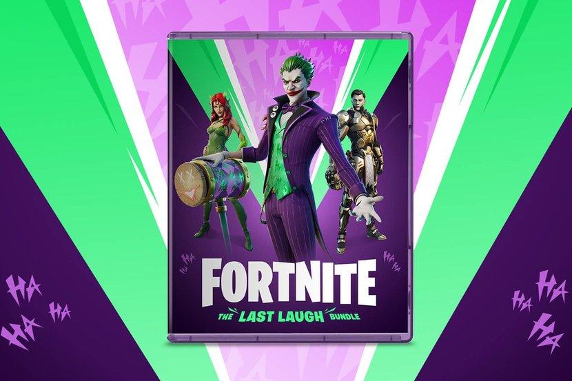 Fortnite, The Last Laugh, Battle Royal, The Joker, Batman