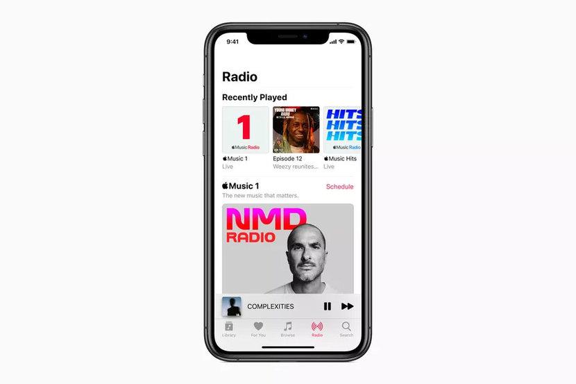 Apple, Apple Music, Apple Music Radio, Apple Music 1, Apple Music Hits, Apple Music Country, Streaming, Online radio