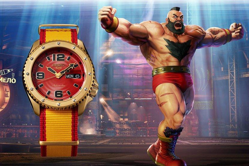 Seiko, Seiko 5, Watches, Street Fighter