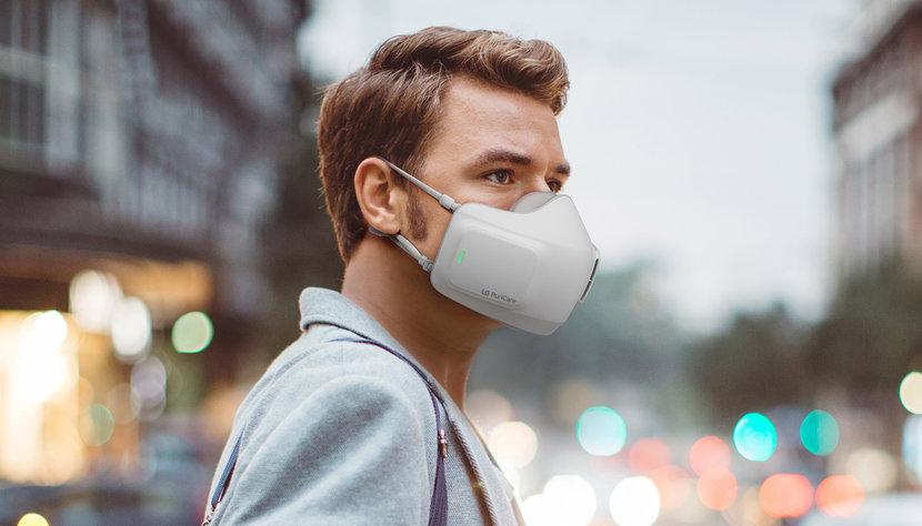 LG, Mask, Wearable Mask, Air purifier