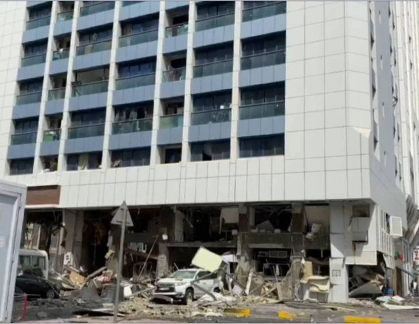 Abu dhabi, Explosion, News, Brief