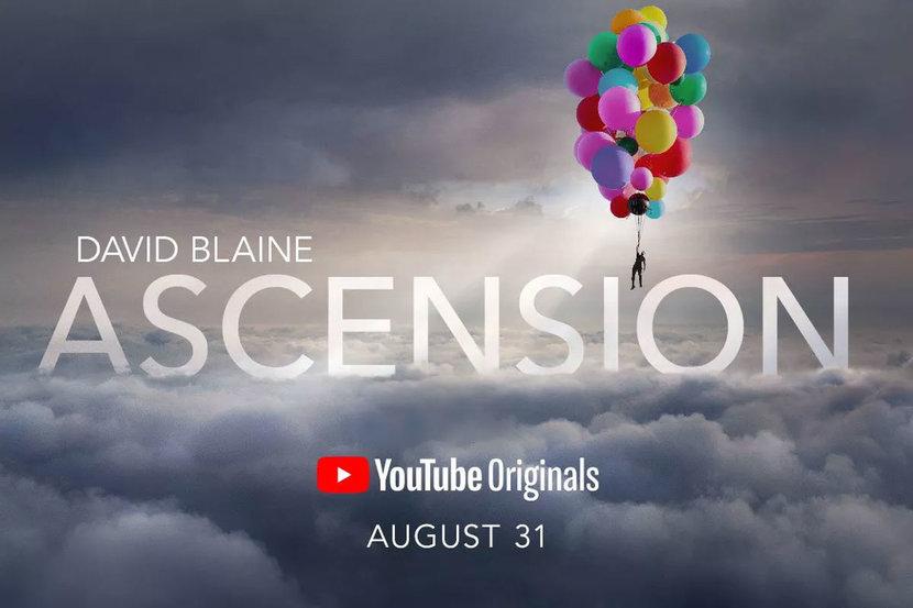 David Blaine, Ascension, Stunt, YouTube, Magic