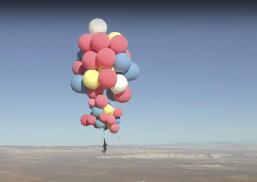 David Blaine, Ascension, Stunts, Balloons, Rubbish, Opinion
