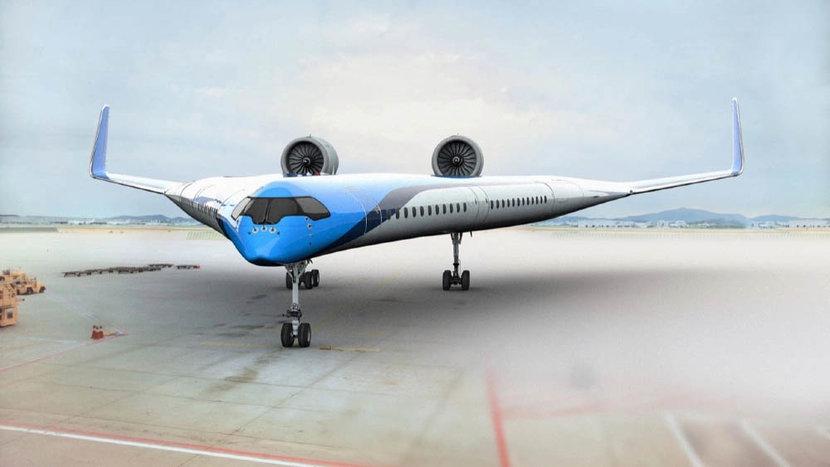 KLM, Flying-V, Airbus, Planes, Airplanes, Travel