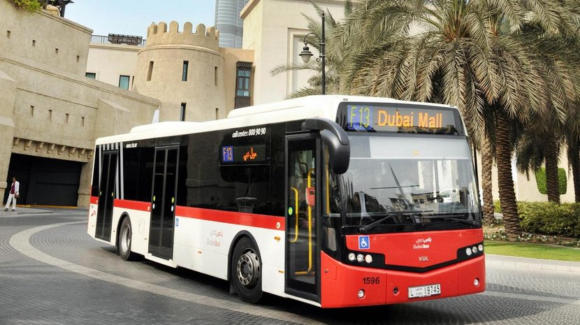 RTA, Dubai, Buses, Smart City, Robot drivers, AI, Dubai AI, UAE