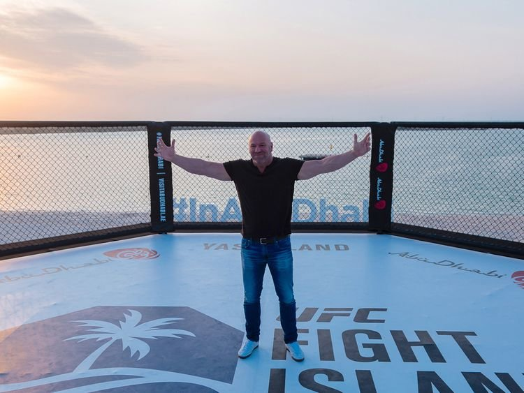 Dana White, UFC, Abu dhabi, UFC Arabia, Abu Dhabi UFC, UFC Capital, Fight Island, Yas island, Yas Island UFC