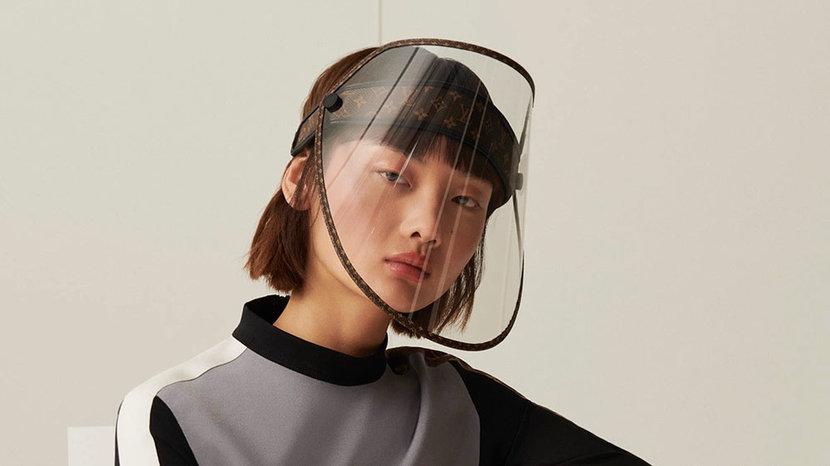 Louis Vuitton, LV, Face Mask, Covid-19, Coronavirus