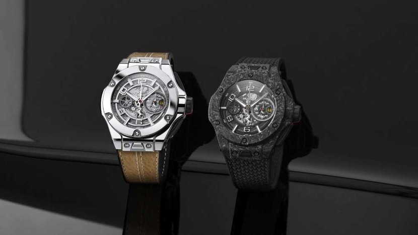 Hublot, Ferrari, Scuderia Ferrari, Limited edition, Watch, Carbon Fiber