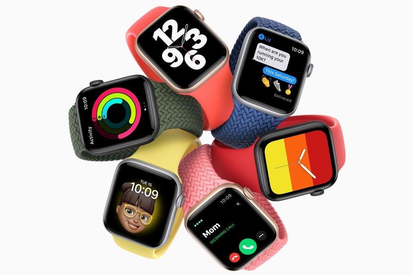 Apple, Apple watch, Apple Watch Series 6, Apple Watch SE, Smartwatch, Smart Tracker