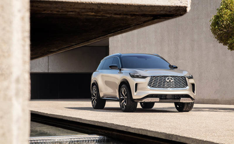 New Infiniti Qx60 Monograph Looks Wheely Good Esquire Middle East